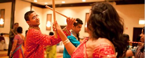 Garba & Dandiya Raas (Indian Dancing)